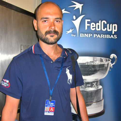 Andy Taylor | Fed Cup Announcer