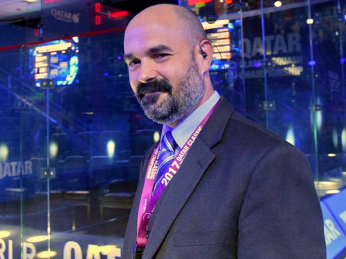 Andy Taylor | Squash Announcer
